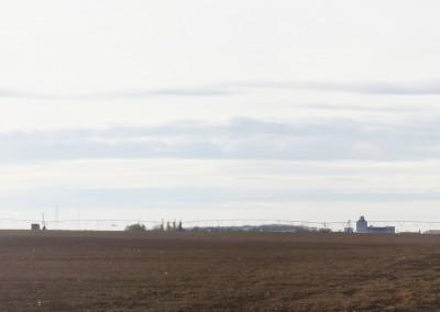 paysage d'une agriculture industrielle