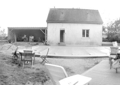 aujourd'hui, vue depuis la terrasse